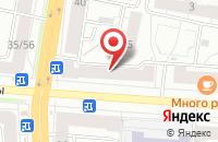 Схема проезда до компании Красивый Дом в Ярославле