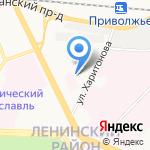 АБВ-реклама на карте Ярославля