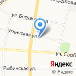 Брызги шампанского на карте Ярославля