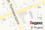 Схема проезда до компании Молодежный в Аксае