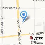 Эльф на карте Ярославля