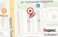 Схема проезда до компании Эльф в Ярославле