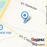 Средняя общеобразовательная школа №18 на карте Ярославля