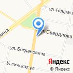 Оконные системы на карте Ярославля