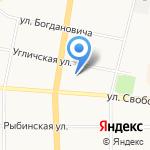 Перспектива-2001 на карте Ярославля