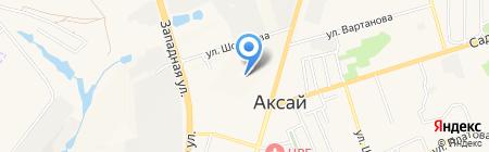 Детский сад №3 на карте Аксая