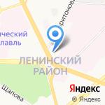 Гардиан на карте Ярославля