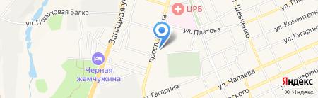 Аксайский риэлтор на карте Аксая
