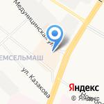 Банкомат на карте Вологды