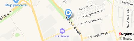 ХАДО на карте Аксая