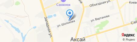 Нортон-Дон на карте Аксая