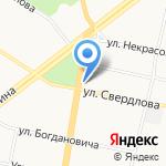 ЯрМото на карте Ярославля