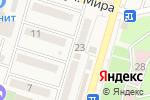 Схема проезда до компании Комфорт в Аксае