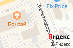 Схема проезда до компании Эксклюзив в мебели в Северодвинске