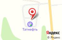 Схема проезда до компании Татнефть в Лучинском