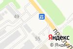 Схема проезда до компании Ростов Автоклимат в Аксае