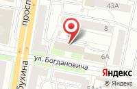 Схема проезда до компании Ярославская таможня в Ярославле