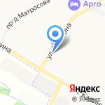Авея на карте Ярославля