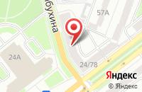 Схема проезда до компании Отдел службы судебных приставов Ленинского района в Ярославле