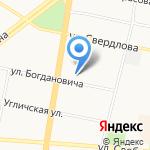Ярославская таможня на карте Ярославля