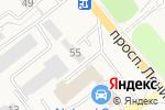 Схема проезда до компании Стандарт-Юг в Аксае