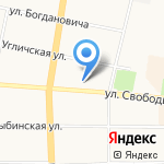 Giovane Gentile на карте Ярославля