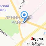 Ярославская областная клиническая наркологическая больница на карте Ярославля