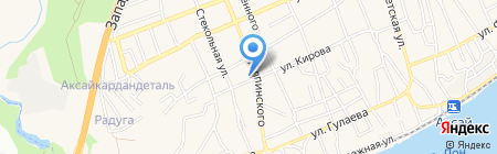 Магазин хозяйственных товаров на карте Аксая