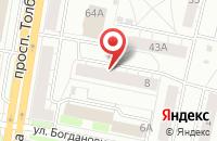 Схема проезда до компании Хайтек в Ярославле
