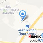 Газпромнефть на карте Ярославля