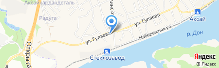 ХЛЕБОКОМБИНАТ АКСАЙСКОГО РАЙПО на карте Аксая