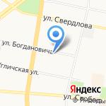 Алтайские бальзамы на карте Ярославля