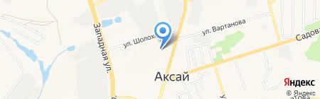 Средняя общеобразовательная школа №4 на карте Аксая