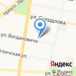Независимая регистраторская компания на карте Ярославля