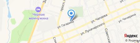 Газпром газораспределение Ростов-на-Дону на карте Аксая