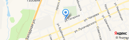 Банкомат ГазПромБанк на карте Аксая