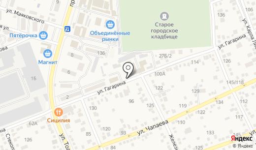 Газпром газораспределение Ростов-на-Дону. Схема проезда в Аксае