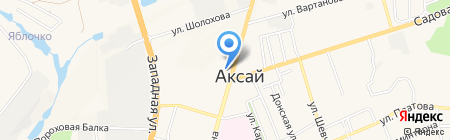 Горизонт на карте Аксая