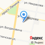 Нотариус Хорикова Ю.Л. на карте Ярославля