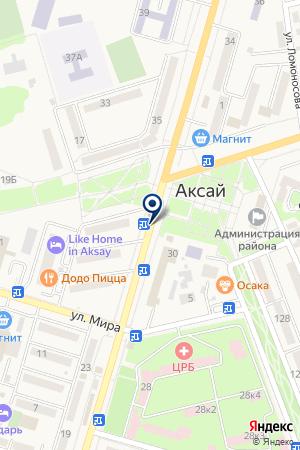 АКСАЙСКИЙ ФИЛИАЛ РОСТОВСКИЙ ГОСУДАРСТВЕННЫЙ ЭКОНОМИЧЕСКИЙ УНИВЕРСИТЕТ на карте Аксая