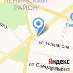 Автолига на карте Ярославля