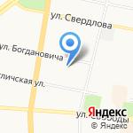 Сто друзей ста мастей на карте Ярославля