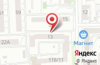 Схема проезда до компании Всероссийское общество инвалидов Дзержинского района в Ярославле