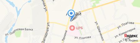 Управление Федеральной почтовой связи Ростовской области на карте Аксая