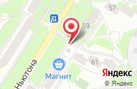 Схема проезда до компании СушиLOve в Ярославле