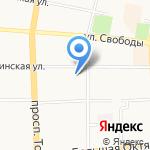 Детский сад №37 на карте Ярославля