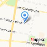 Челентано на карте Ярославля