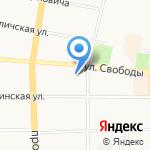 Владивосток-1 на карте Ярославля