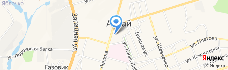Форсаж на карте Аксая