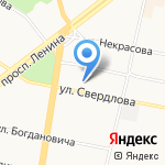 Стилиссимо на карте Ярославля
